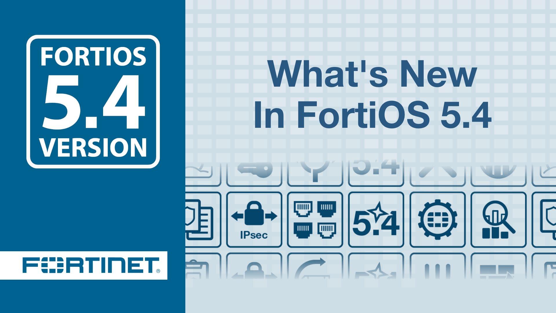 Actualización FortiOS